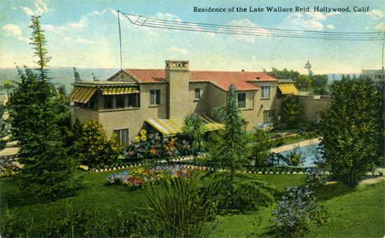 1923 Drugs Kill Paramount Star Playground To The Stars