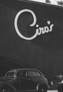 1940: Ciro's Opens