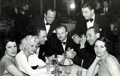harlow and powell out at trocadero with william haines and