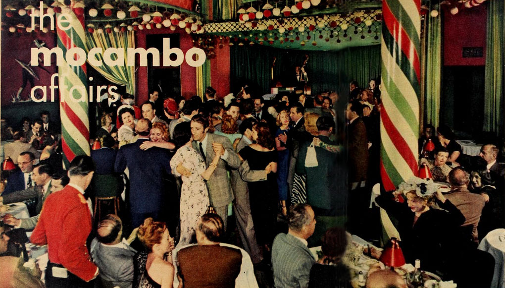 Rare Color Photos Of The Interior Of The Sunset Strip S