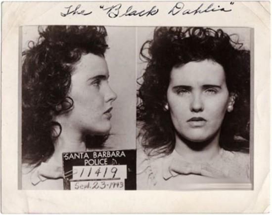 Elizabeth Short's mugshot