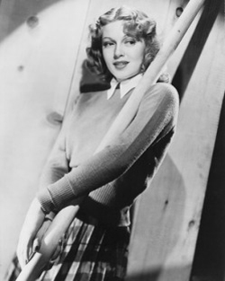 Sweater girl: Lana Turner