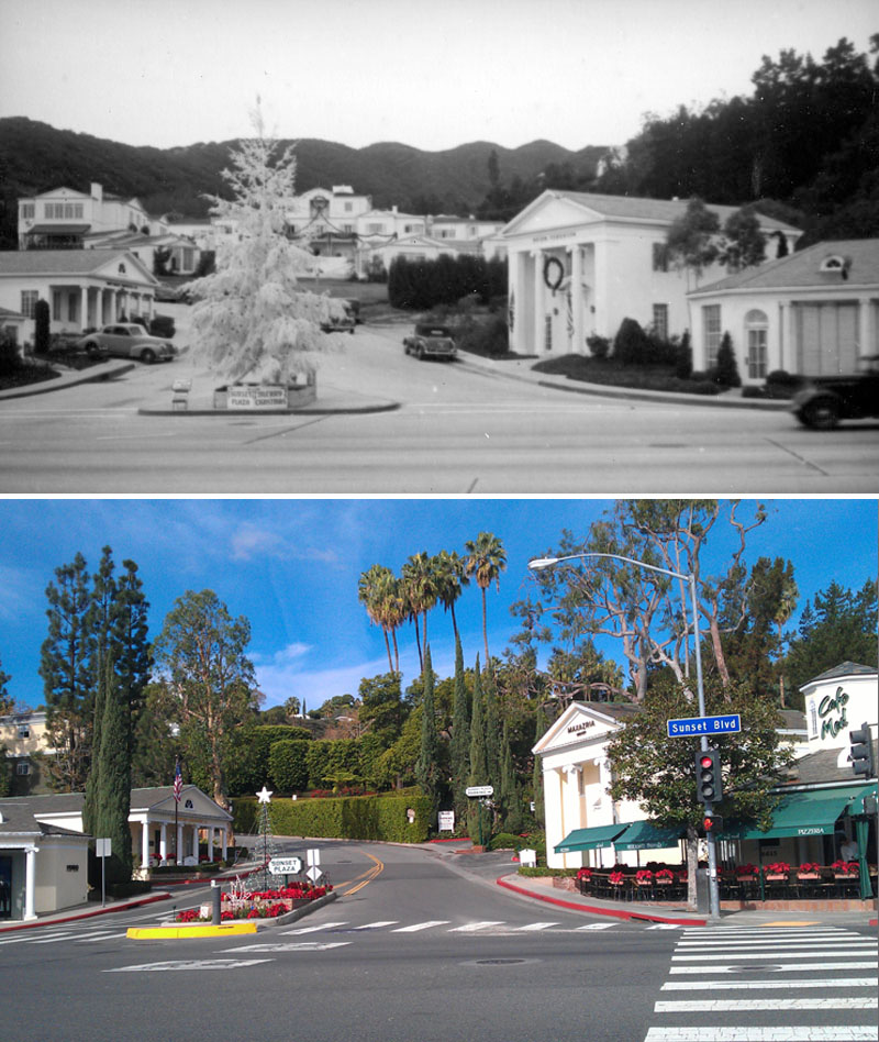 Then And Now Sunset Plaza Apartments Luxury Living At The Strip S Historic Core